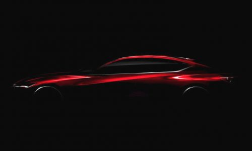Acura Precision concept previewed before Detroit debut