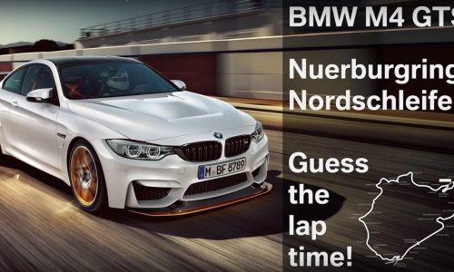 BMW M4 GTS laps Nurburgring in around 7:28? (video)