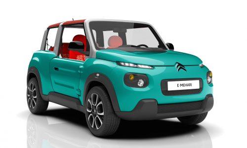 Citroen E-MEHARI revealed, quirky new electric SUV
