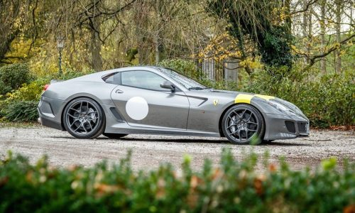 For Sale: Low-km Ferrari 599 GTO, 1 of 599 made