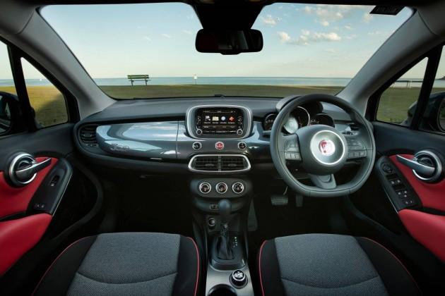 Fiat 500X-interior