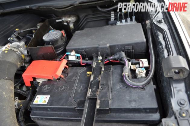 Ford-Ranger Duratorq-battery