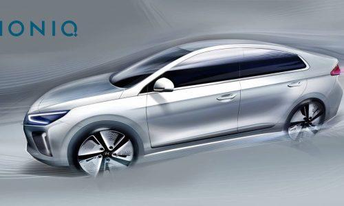 IONIQ: Hyundai's new hybrid/EV previewed again, interior shown