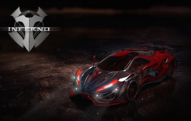Inferno supercar-Mexico