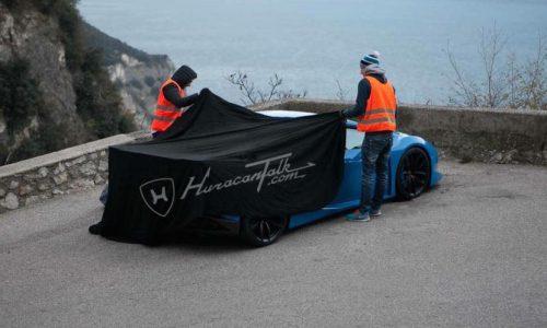 Mysterious Lamborghini Huracan spotted, new Superleggera?