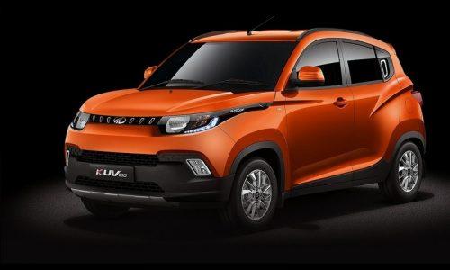 Mahindra KUV100 revealed, new compact SUV for India