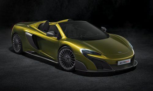 McLaren reveals 675LT Spider, new lightweight drop-top