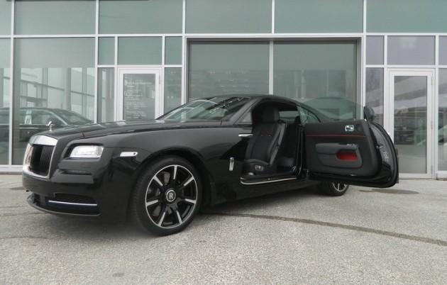 Rolls-Royce Wraith Carbon Fibre edition