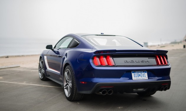 Roush 2015 Ford Mustang-rear