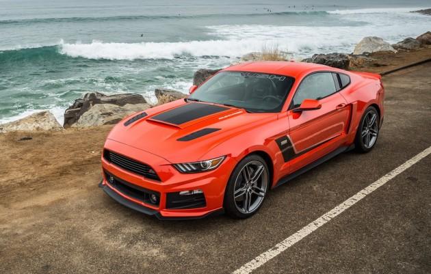 Roush Ford Mustang 2015-orange