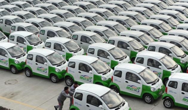 Tianjin 1000 EV fleet