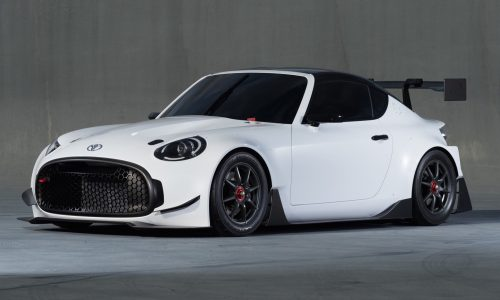 Toyota reveals angry little S-FR Racing Concept