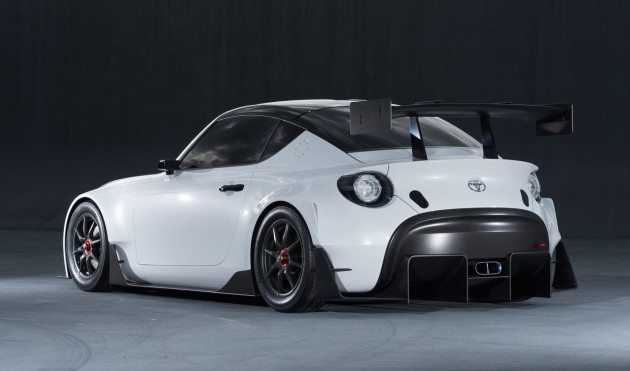 Toyota S-FR Racing Concept-rear