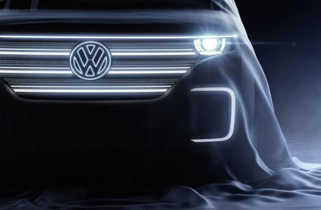 Volkswagen electric concept-2016 CES preview