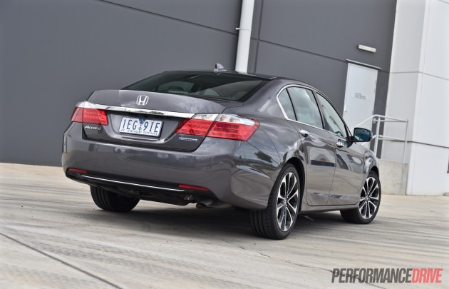 2015 Honda Accord Sport Hybrid-rear