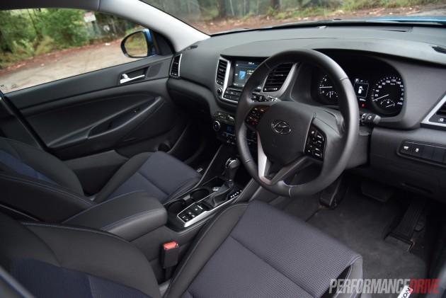 2015 Hyundai Tucson Elite-interior