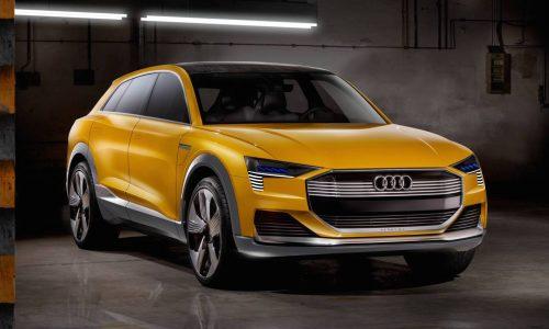 Audi h-tron concept unveiled, previews future hydrogen fuel cell tech