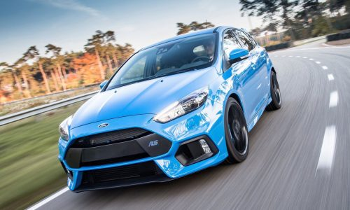 First 2016 Ford Focus RS rolls off production line in Germany
