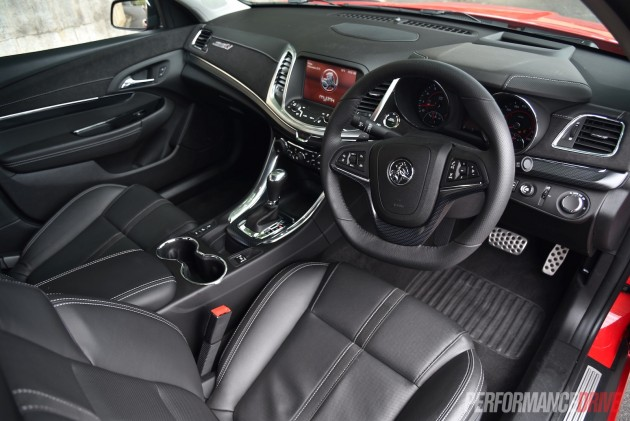 2016 Holden Commodore SS V Redline-interior