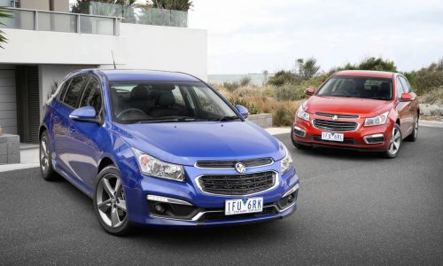 2016 Holden Cruze Z-Series on sale in Australia from $22,640