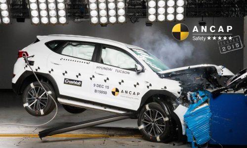 Updated 2016 Hyundai Tucson gets 5-star ANCAP rating