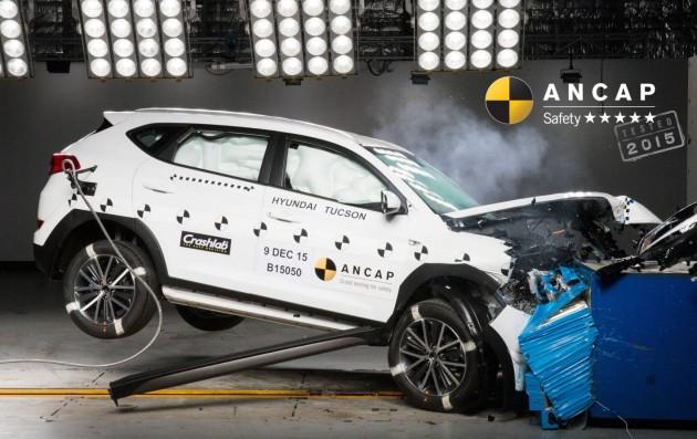 2016 Hyundai Tucson ANCAP