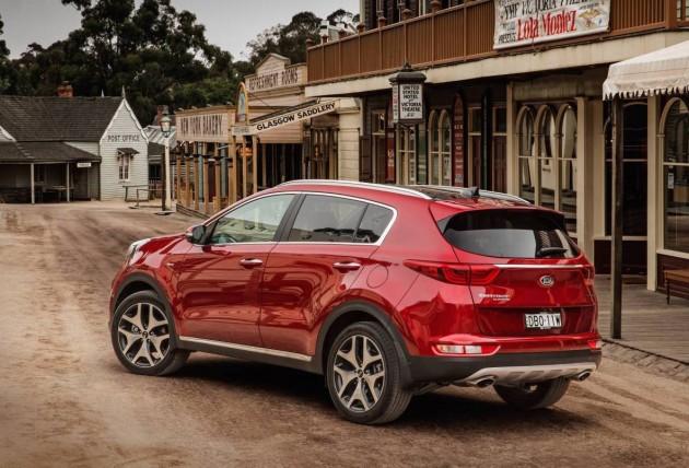 2016 Kia Sportage Platinum rear