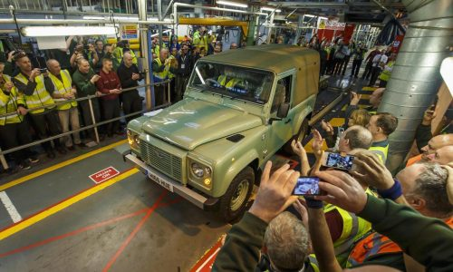 Final Land Rover Defender rolls off production line in Solihull
