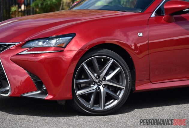 2016 Lexus GS 200t F Sport-19in wheels