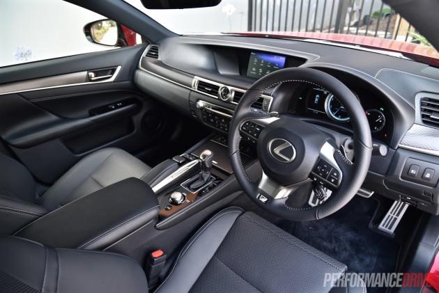 2016 Lexus GS 200t F Sport-interior