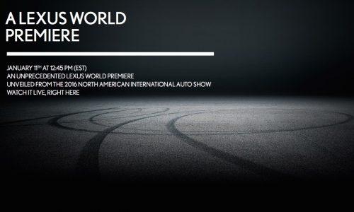 Lexus plans world premiere at Detroit, new 'LC' coupe?