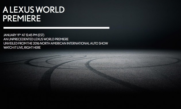 2016 Lexus LC teaser-maybe