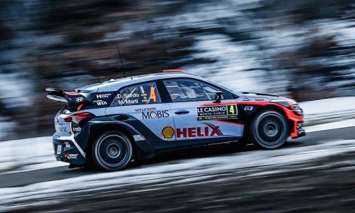 New Hyundai i20 kicks off 2016 WRC with 3rd at Rallye Monte-Carlo