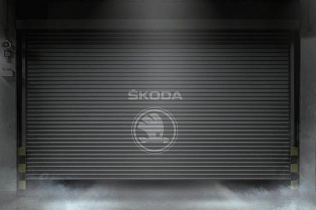 2016 Skoda teaser-Geneva show