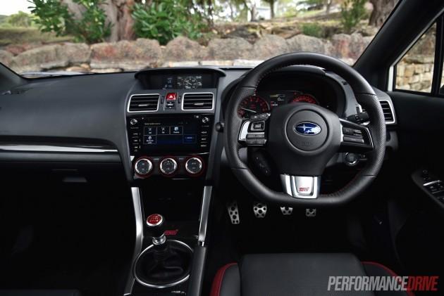 2016 Subaru WRX STI-interior