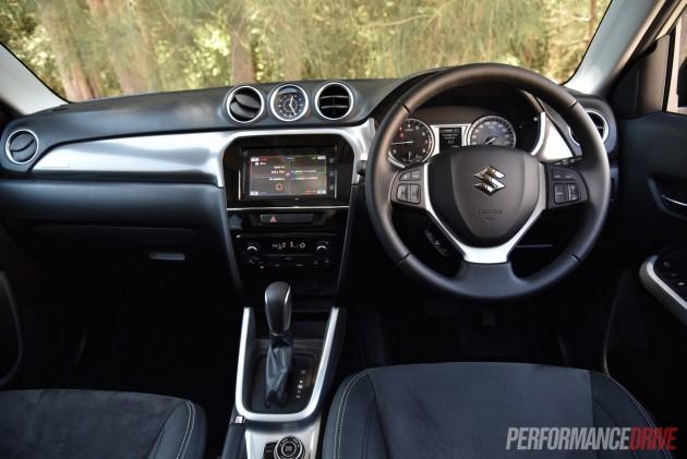 2016 Suzuki Vitara RT-X dash