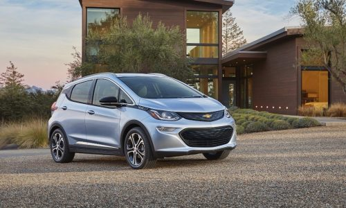 2017 Chevrolet Bolt unveiled at CES, GM's new fully electric city car