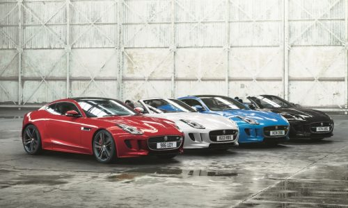 2017 Jaguar F-Type British Design Edition announced for Australia