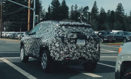 2017 Jeep Compass, Patriot prototype spotted testing on the streets