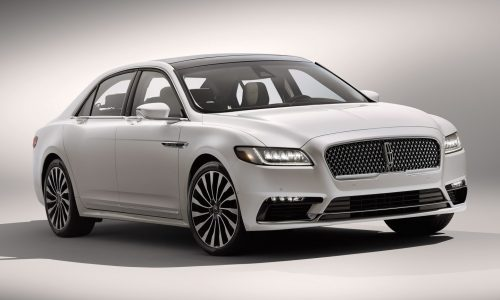 2017 Lincoln Continental revealed at Detroit show
