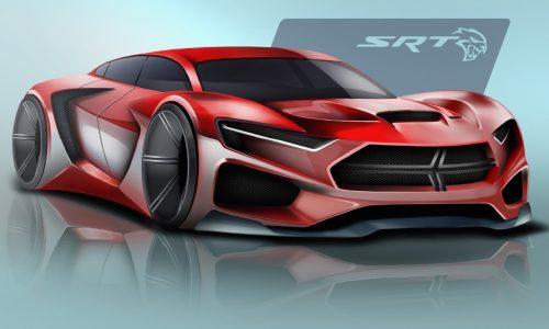 Chrysler 2025 SRT Hellcat design competition winners announced