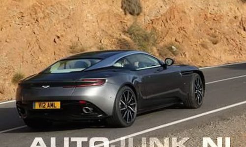 Aston Martin DB11 spotted in Spain?
