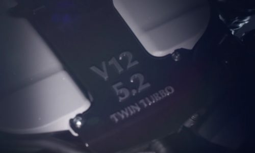 Video: Aston Martin previews its all-new 5.2 twin-turbo V12