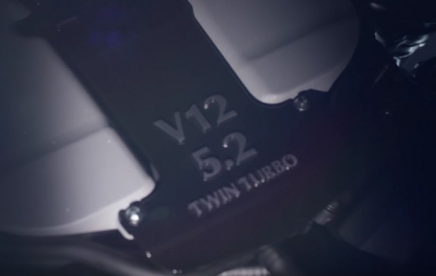 Aston Martin twin-turbo V12