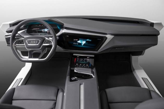 Audi dash CES 2016