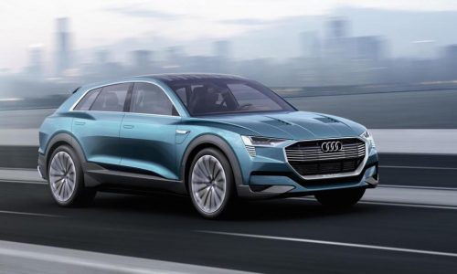 Audi Q6 e-tron production starts in 2018, at Brussels facility