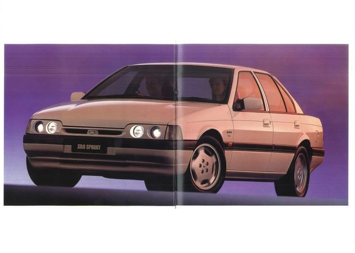 Ford Falcon Sprint - the history behind the special edition