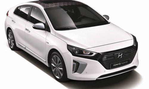 Hyundai IONIQ officially revealed, all-new dedicated hybrid & EV