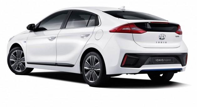 Hyundai IONIQ-rear