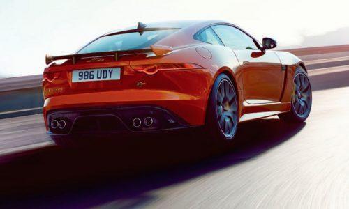 Jaguar F-Type SVR revealed in leaked images, new flagship